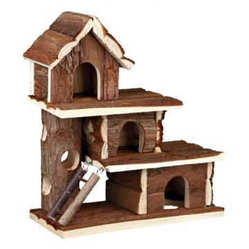Pet Ting Natural Living Tammo Three Storey Wooden House
